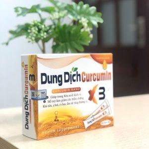 dung dịch chữa đau dạ dày curcumin x3 trong 5 phút